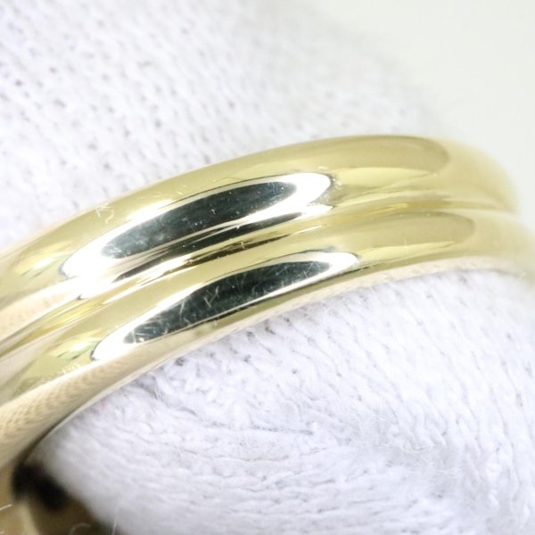 ジュエリー ダイヤモンド リング 指輪 クリアー x ゴールド  ランクA 13号