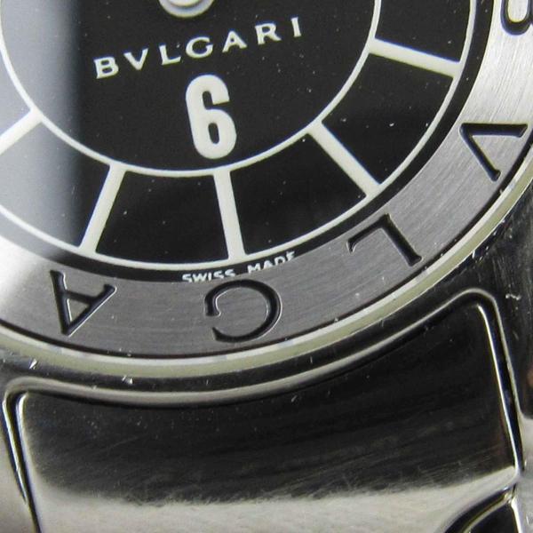 ブルガリ ソロテンポ ウォッチ 腕時計 シルバー ステンレススチール(SS) ST29S ランクA