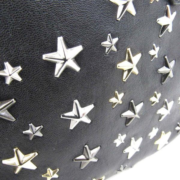 ジミーチュウ ソフィア スタースタッズ トートバッグ ブラック 牛革(カーフ)xスタースタッズ   ランクA