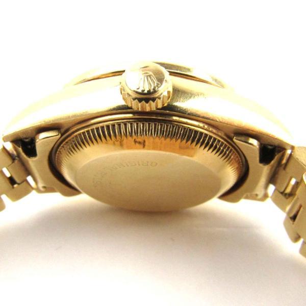 ロレックス デイトジャスト ベゼルダイヤモンド 10Pダイヤモンド ウォッチ 腕時計 ゴールド K18YG(750)イエローゴールド x ダイヤモンド