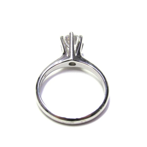 ジュエリー 一粒ダイヤモンドリング 指輪 PT900 プラチナxダイヤモンド(0.87ct) ランクA 11号