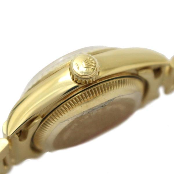 ロレックス デイトジャスト 10Pダイヤモンド レディースウォッチ 腕時計 ゴールド K18YG(750)イエローゴールド×ダイヤモンド 69178G