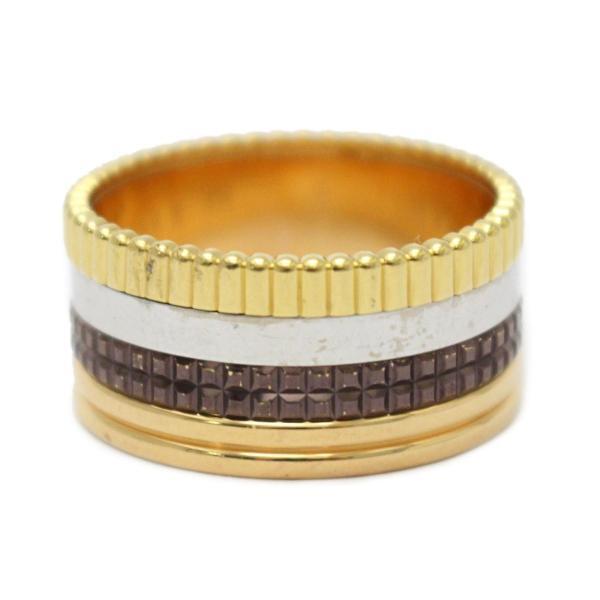 ブシュロン キャトル クラシック リング ラージ フォーカラー 指輪  ランクA #65/24号
