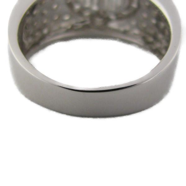 ジュエリー ダイヤモンドリング K18WG(750) ホワイトゴールド×ダイヤモンド 1.03ct  ランクS 12号