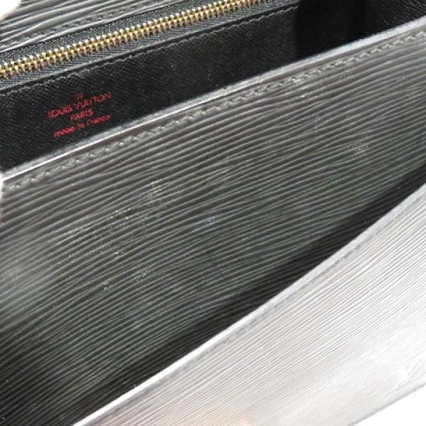 ルイヴィトン モンソー ハンドバッグ ノワール エピ M52122 ランクB