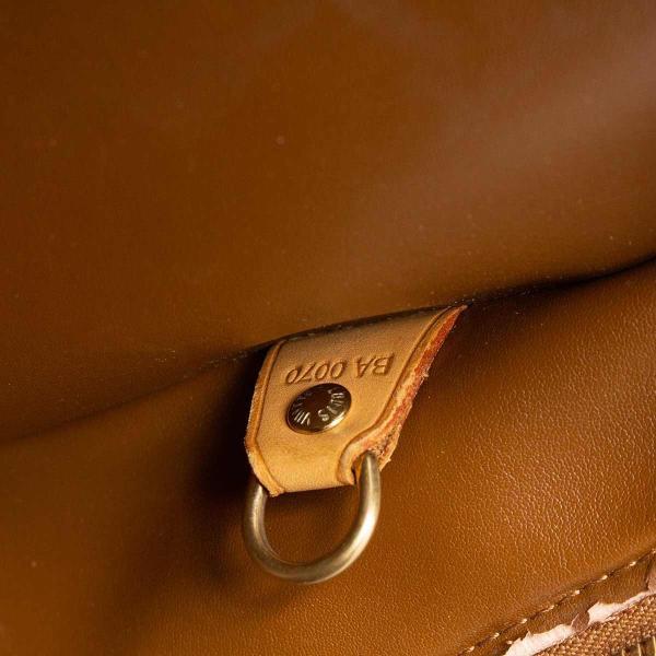 ルイヴィトン ハンドバッグ LOUIS VUITTON 破格本物 ヴェルニ トンプキンス スクエア ブロンズ 14304  売れ筋 ポイント2倍