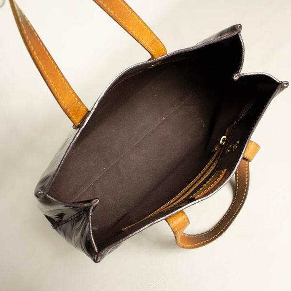 ルイヴィトン ハンドバッグ LOUIS VUITTON 破格本物 ヴェルニ リードPM アマラント 濃い紫 中古 売れ筋 ポイント2倍 送料無料|brandofqueen|04