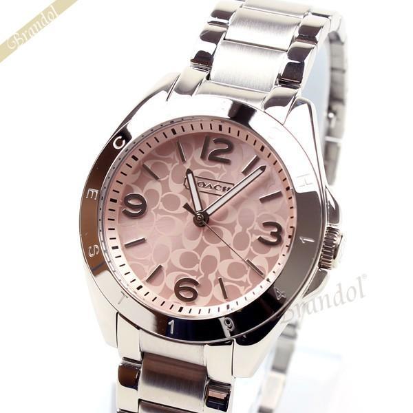 コーチ COACH レディース腕時計 トリステン ブレスレット 32mm ピンク 14501782|brandol-s