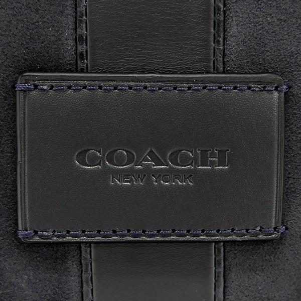 コーチ COACH メンズ ボディバッグ ベースボール ステッチ レザー ワンショルダー ネイビー F25512 QBBHP 【コーチアウトレット】 [在庫品]