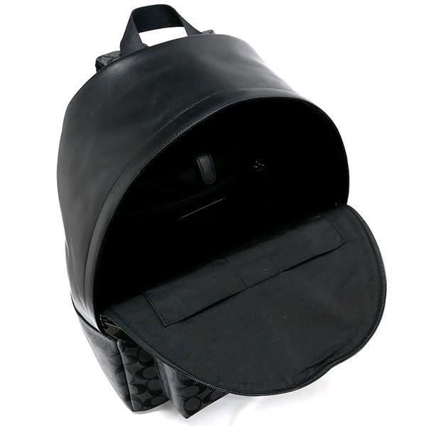 コーチ COACHメンズ・レディースリュック シグネチャー バックパック ブラック系 F55398 CQ/BK 【コーチアウトレット】 [在庫品]