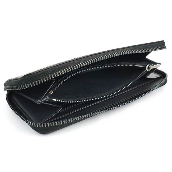 コーチ COACH メンズ ラウンドファスナー長財布 シグネチャー ブラック系 F58112 CQ/BK|brandol-s|05