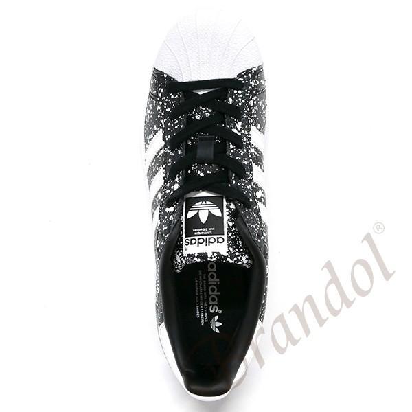 アディダス adidas スニーカー new balanceスーパースター レディース [22.0-25.0cm] ブラック×ホワイト BY9172 [在庫品]