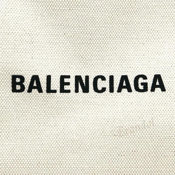 バレンシアガ Balenciaga レディース トートバッグ カバ NAVY CABAS S キャンバストート スモール ポーチ付 ナチュラル×ブラック 339933 AQ38N 1081 [在庫品] brandol 08