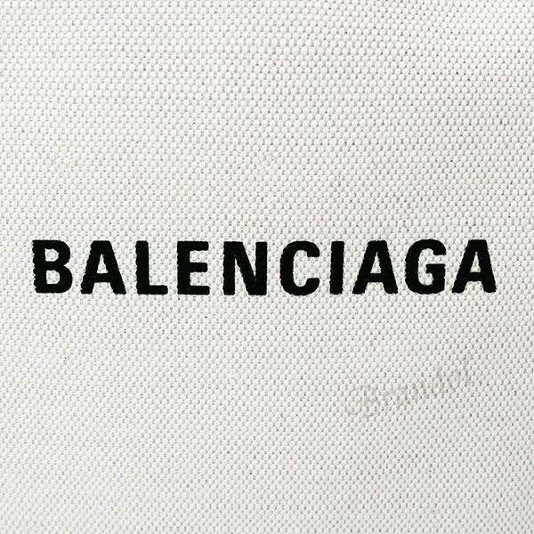 バレンシアガ Balenciaga レディース トートバッグ カバ NAVY CABAS S キャンバストート スモール ポーチ付 ナチュラル×グレー 339933 AQ38N 1381 [在庫品] brandol 08