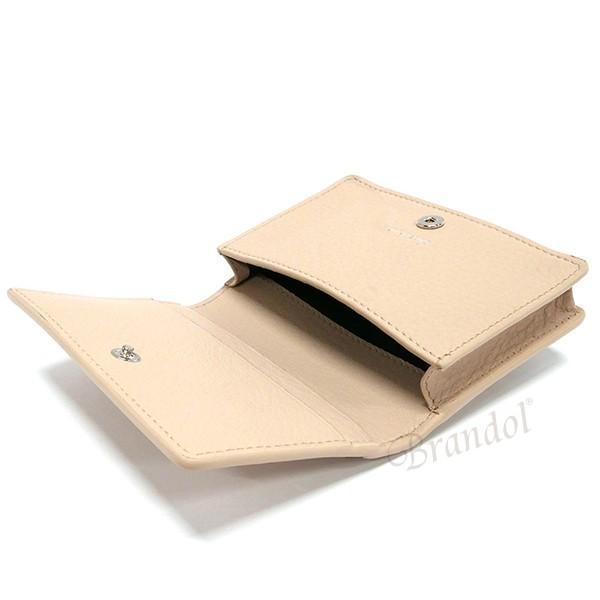 バレンシアガ Balenciaga レディース・メンズ 名刺入れ PAPER ペーパー レザー カードケース ベージュ 499201 DLQ0N 2730 [在庫品]|brandol|04
