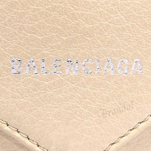バレンシアガ Balenciaga レディース・メンズ 名刺入れ PAPER ペーパー レザー カードケース ベージュ 499201 DLQ0N 2730 [在庫品]|brandol|05