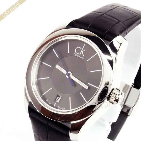 カルバンクライン Calvin Klein レディース腕時計 CK ストライブ 34mm ブラック K0K23161 [在庫品]|brandol