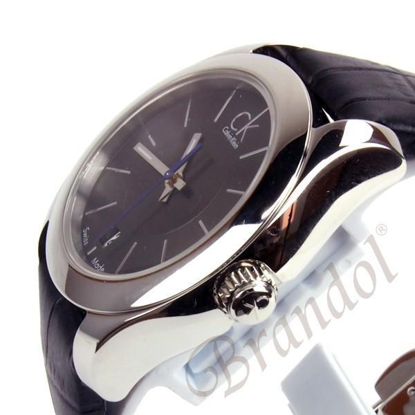 カルバンクライン Calvin Klein レディース腕時計 CK ストライブ 34mm ブラック K0K23161 [在庫品]|brandol|04