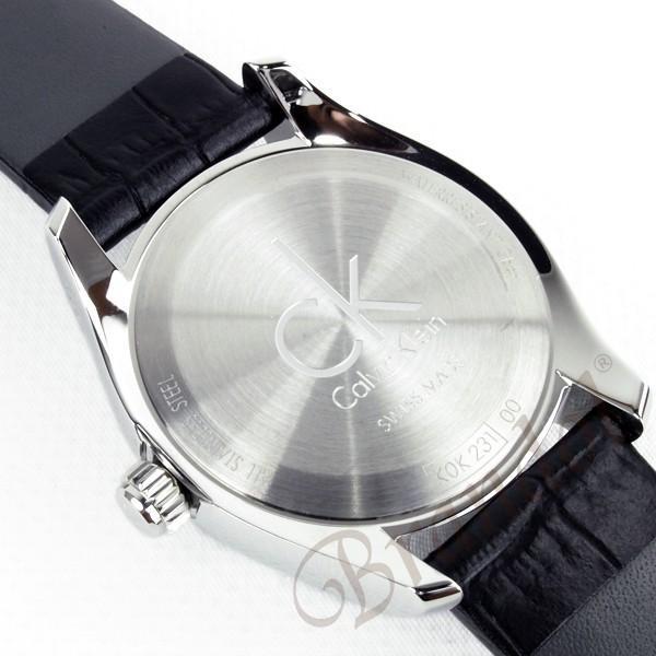 カルバンクライン Calvin Klein レディース腕時計 CK ストライブ 34mm ブラック K0K23161 [在庫品]|brandol|06