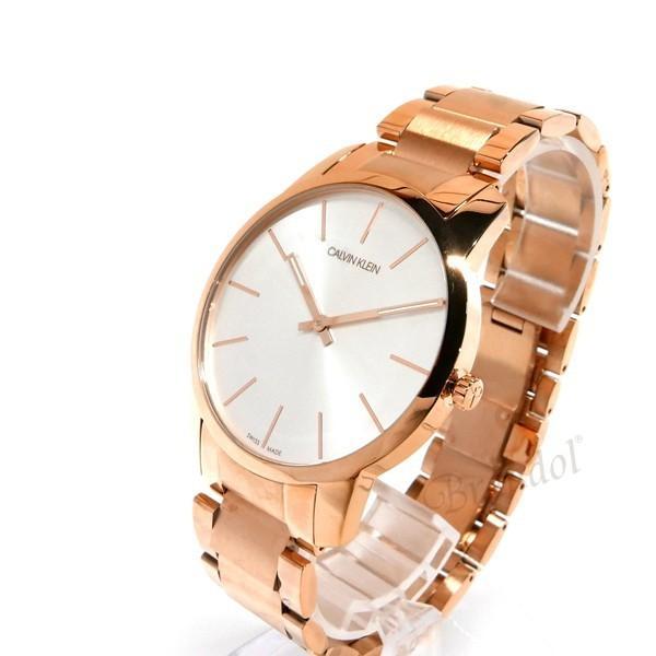 カルバンクライン Calvin Klein メンズ 腕時計 シティ 43mm シルバー×ローズゴールド K2G216.46 [在庫品]|brandol|02