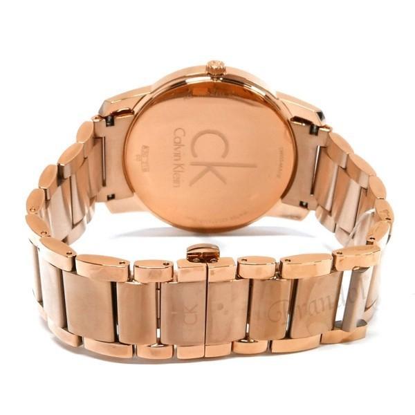 カルバンクライン Calvin Klein メンズ 腕時計 シティ 43mm シルバー×ローズゴールド K2G216.46 [在庫品]|brandol|05