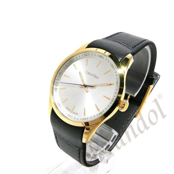 カルバンクライン Calvin Klein メンズ 腕時計 ボールド 41mm シルバー×ブラック K5A315.C6 [在庫品]|brandol|02