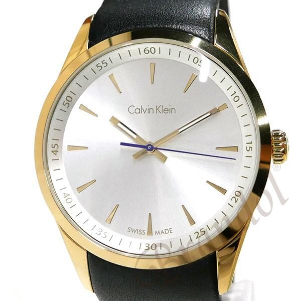 カルバンクライン Calvin Klein メンズ 腕時計 ボールド 41mm シルバー×ブラック K5A315.C6 [在庫品]|brandol|03