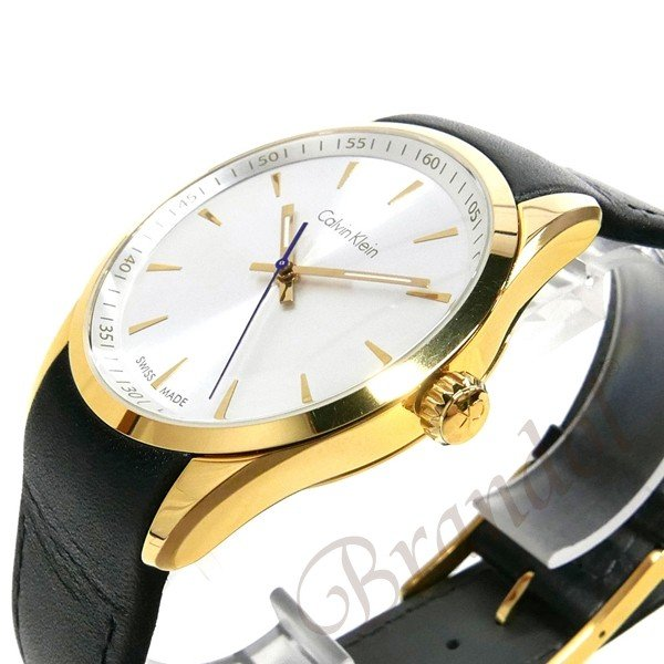 カルバンクライン Calvin Klein メンズ 腕時計 ボールド 41mm シルバー×ブラック K5A315.C6 [在庫品]|brandol|04