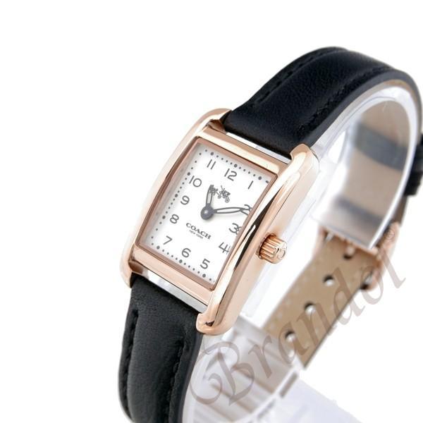 コーチ COACH レディース腕時計 トンプソン スクエア ローズゴールド×ブラック 14502451 [在庫品]