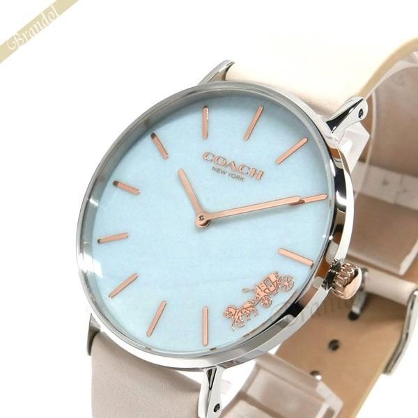 91c878f8d781 コーチ COACH レディース腕時計 Perry ペリー 36mm ライトブルー×ホワイト 14503270 [在庫品]