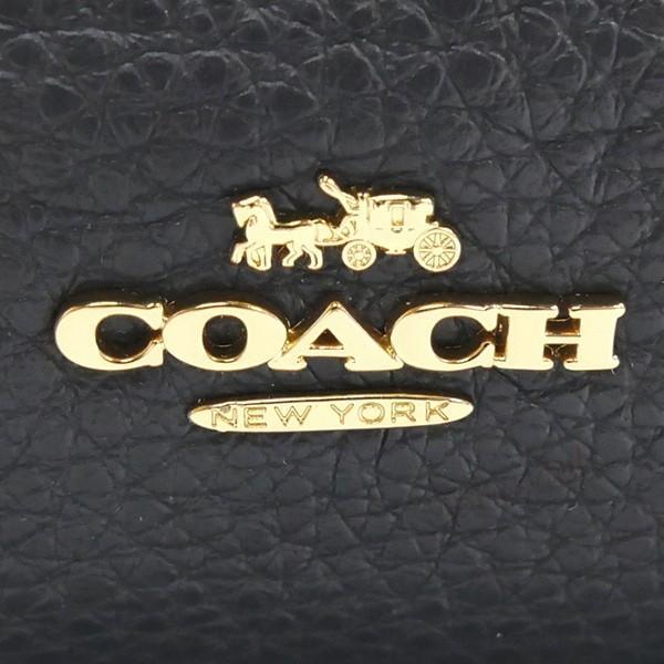 コーチ COACH レディース リュックサック レザー ミニリュック ネイビー F28995 IMMID 【コーチアウトレット】 [在庫品]