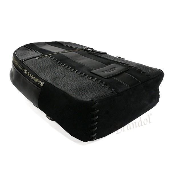 コーチ COACH メンズ ボディバッグ レザー ブラック F55493 QB/BK 【コーチアウトレット】 [在庫品]|brandol|04