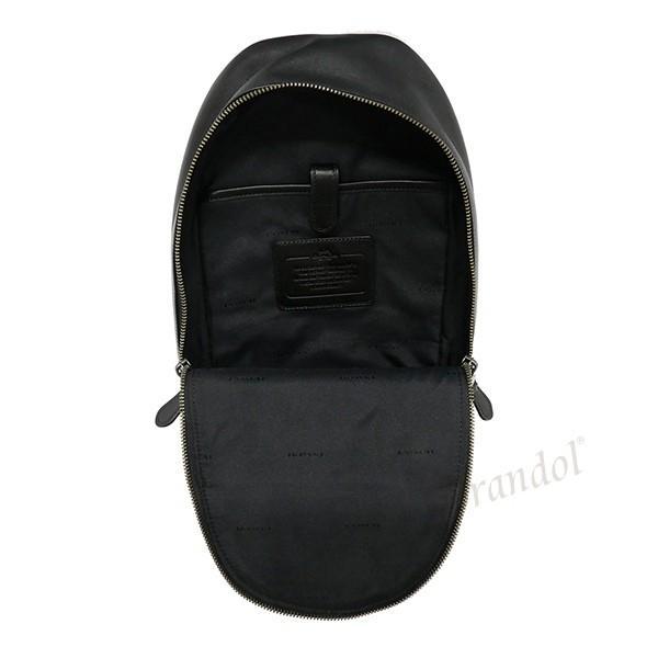 コーチ COACH メンズ ボディバッグ レザー ブラック F55493 QB/BK 【コーチアウトレット】 [在庫品]|brandol|05