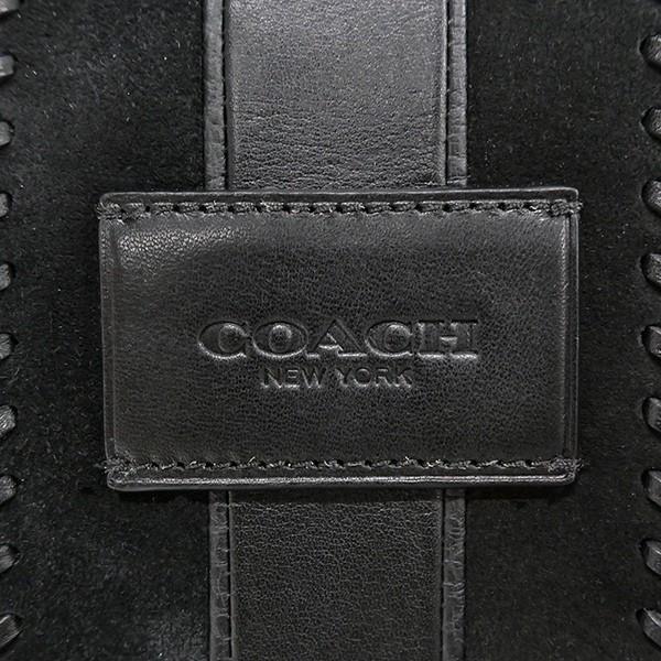 コーチ COACH メンズ ボディバッグ レザー ブラック F55493 QB/BK 【コーチアウトレット】 [在庫品]|brandol|08