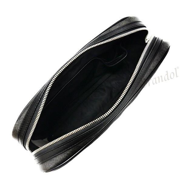 ダンヒル dunhill メンズ セカンドバッグ WINDSOR ウィンザー グレー L3W791Z [在庫品]|brandol|04