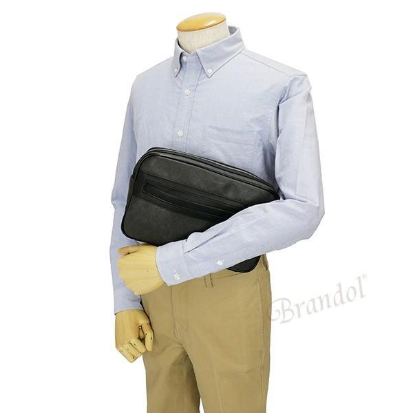 ダンヒル dunhill メンズ セカンドバッグ WINDSOR ウィンザー グレー L3W791Z [在庫品]|brandol|05