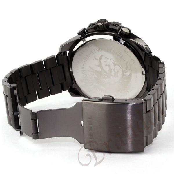 ディーゼル DIESEL メンズ腕時計 メガチーフ クロノグラフ Mega Chief 52mm ネイビー×ブラック DZ4329 [在庫品] brandol 05
