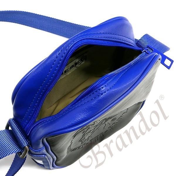 ディーゼル DIESEL メンズ ショルダーバッグ BRAVE ブレイブマン メッセンジャー ブラック×ブルー X00877 PS386 H4144 [在庫品]|brandol|04