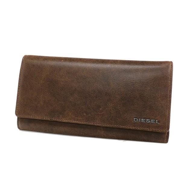 ディーゼル DIESEL メンズ 長財布 レザー ブラウン×ミントグリーン X03359 P1075 H6183 [在庫品]|brandol|02