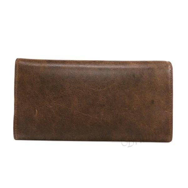 ディーゼル DIESEL メンズ 長財布 レザー ブラウン×ミントグリーン X03359 P1075 H6183 [在庫品]|brandol|03