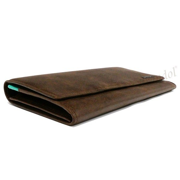 ディーゼル DIESEL メンズ 長財布 レザー ブラウン×ミントグリーン X03359 P1075 H6183 [在庫品]|brandol|04