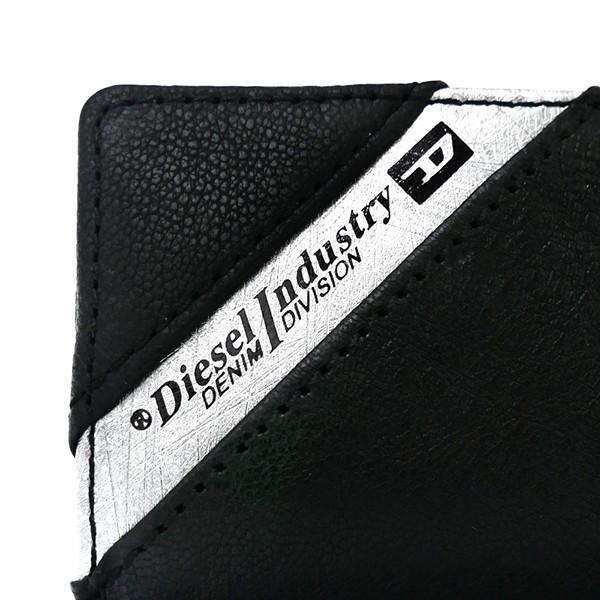 ディーゼル DIESEL メンズ キーケース レザー ブラック×グレー X03613 P1221 H6168 [在庫品]|brandol|05