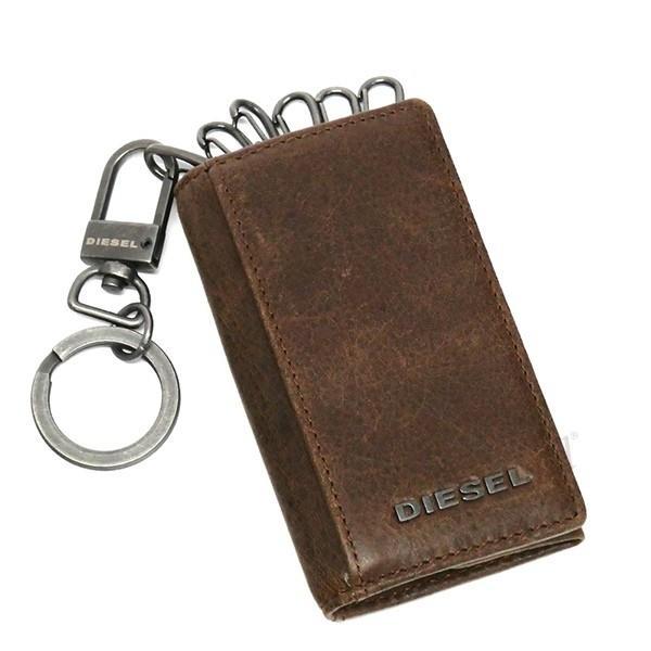 ディーゼル DIESEL メンズ キーケース レザー ブラウン×ミントグリーン X03615 P1075 H6183 [在庫品]|brandol|02