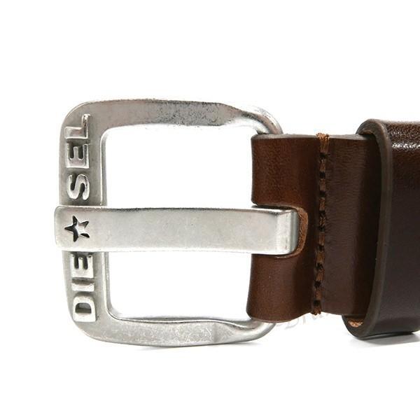 ディーゼル DIESEL ベルト メンズ レザー ブラウン X03721 PR227 H5907 [在庫品]|brandol|02