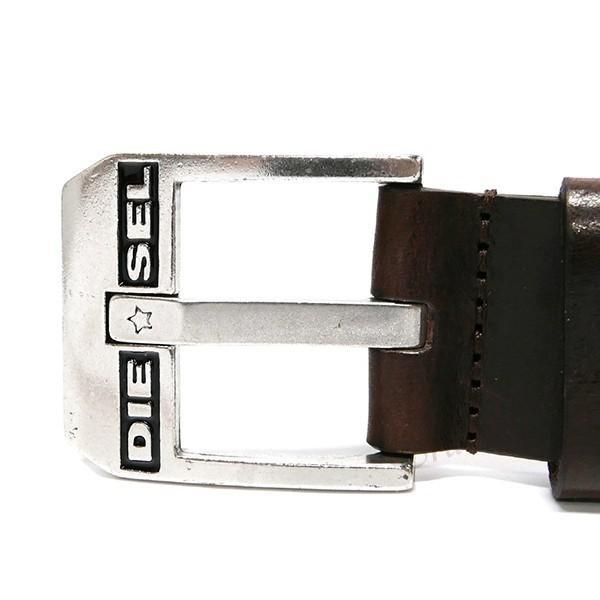 ディーゼル DIESEL ベルト メンズ BLUESTAR レザー 革ベルト ダークブラウン X03728 PR227 H5900 [在庫品]|brandol|02
