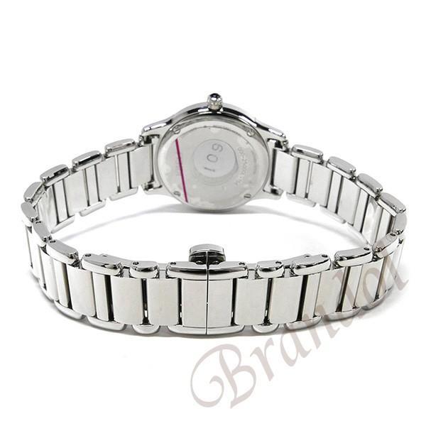 フェンディ FENDI レディース腕時計 ラウンド クラシコ 26mm ホワイト×シルバー F251024000 [在庫品]|brandol|05