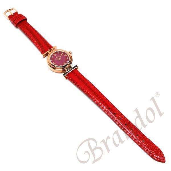 フェンディ FENDI レディース腕時計 MODA ダイヤモンド 23mm レッド F275277BD [在庫品]|brandol|05