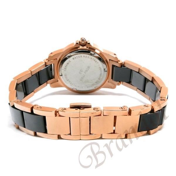フォリフォリ Folli Follie レディース腕時計 30mm ブラック×ゴールド WF9B020BPK|brandol|05
