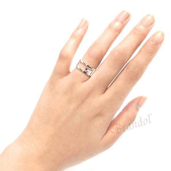 グッチ GUCCI 指輪 メンズ・レディース リング ブランデッド Gリング シルバー 032660 09840 8106 [在庫品]|brandol|05