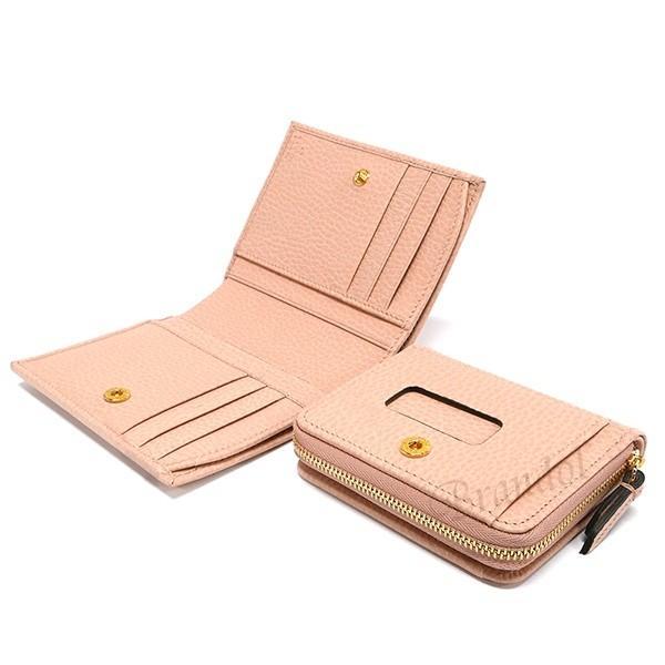 グッチ GUCCI レディース 二つ折り財布 プチ マーモント レザー 脱着式コインケース カードケース ライトピンク 546586 CAO0G 5909 [在庫品]|brandol|07
